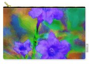 Floral Expression Carry-all Pouch