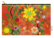 Floral Fantasy 122110 Carry-all Pouch