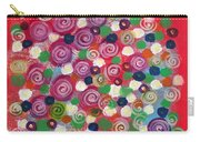 Floral Field  Carry-all Pouch