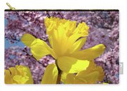 Floral Fine Art Daffodils Art Prints Spring Flowers Sunlit Baslee Troutman Carry-all Pouch