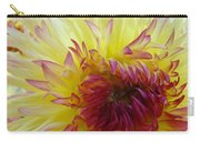 Floral Fine Art Dahlia Flower Yellow Red Prints Baslee Troutman Carry-all Pouch