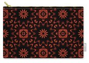 Floral Fire Tapestry Carry-all Pouch