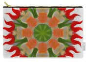 Floral Flare Carry-all Pouch