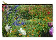 Floral Flow Carry-all Pouch