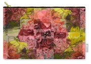 Floral Flux Carry-all Pouch
