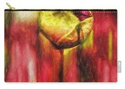 Floral Folds Carry-all Pouch