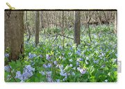 Floral Forest Floor Carry-all Pouch