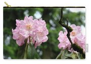 Floral Garden Pink Rhododendron Flowers Baslee Troutman Carry-all Pouch