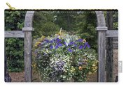 Floral Garden View Carry-all Pouch