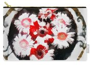 Floral Hotty Totty Carry-all Pouch
