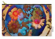 Floral Hotty Totty Differs Carry-all Pouch