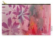 Floral Illusion Carry-all Pouch