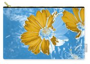 Floral Impression Carry-all Pouch