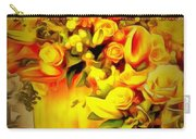 Floral In Ambiance Carry-all Pouch