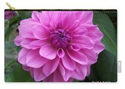 Floral In Pink Carry-all Pouch