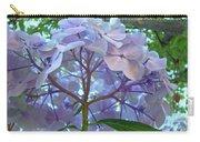 Floral Landscape Blue Hydrangea Flowers Baslee Troutman Carry-all Pouch