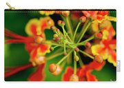 Floral Macro Carry-all Pouch