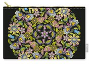 Floral Mandala Pattern Carry-all Pouch