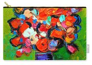 Floral Miniature - Abstract 0315 Carry-all Pouch