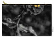 Floral October Zinnia End Of Season Sc 02 Vertical Carry-all Pouch