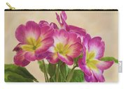 Floral Oil Painting Carry-all Pouch