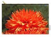 Floral Orange Dahlia Flowers Art Prints Carry-all Pouch