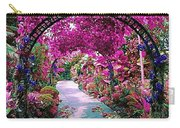 Floral Pathway Carry-all Pouch