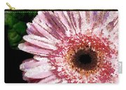 Floral Pink Creative Fragmented In Thick Paint Carry-all Pouch