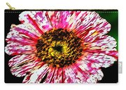 Floral Red And White Painting  Carry-all Pouch