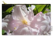 Floral Rhdodendron Flower Art Print Pink Sunlit Rhodies Baslee Carry-all Pouch