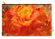 Floral Rhodies Art Prints Orange Rhododendrons Canvas Art Baslee Troutman Carry-all Pouch