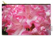 Floral Rhodies Flowers Pink White Art Baslee Troutman Carry-all Pouch