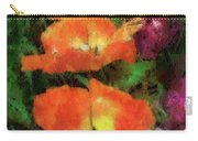 Floral Spring Tulips 2017 Pa 02 Vertical Carry-all Pouch
