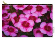 Floral Study In Red And Pink Carry-all Pouch