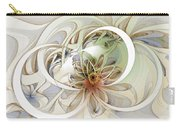 Floral Swirls Carry-all Pouch by Amanda Moore