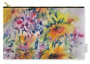Floral Symphony Carry-all Pouch