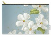 Floral Whorl Carry-all Pouch