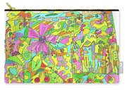 Floral World Carry-all Pouch