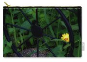 Floral Yellow Peek A Boo Carry-all Pouch