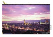 Florence Dusk, Tuscany, Italy Carry-all Pouch