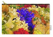 Flores Y Lilas Carry-all Pouch