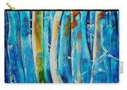 Floresta Azul Carry-all Pouch