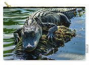 Florida Alligator Carry-all Pouch