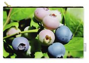 Florida - Blueberries - On The Bush Carry-all Pouch