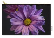 Florida Flowers - Purple Gerbera Daisy Carry-all Pouch