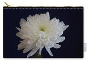 Florida Flowers - White Gerbera Ready For Full Bloom Carry-all Pouch