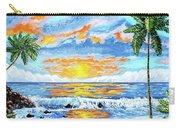 Florida Keys Beach Sunset Carry-all Pouch
