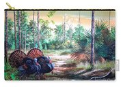 Florida Osceola Turkeys- The Two Kings Carry-all Pouch