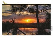 Florida Pine Sunset Carry-all Pouch