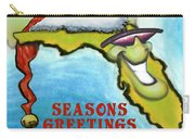 Florida Seasons Greetings Carry-all Pouch